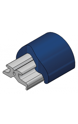 TERMINALE PVC RADIAL 40