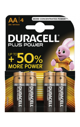 STILO DURACELL PLUS POWER AA