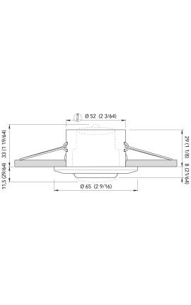 CUFFIA INOX MM 45X40