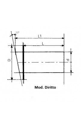 TERMO-IGROMETRO OTT. ALTITUDE MM.96
