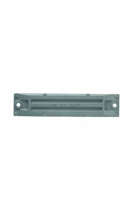 LUCE LED BIANCA CALDA CORNICE INOX
