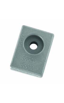 GANCIO A VITE INOX MM.4X60