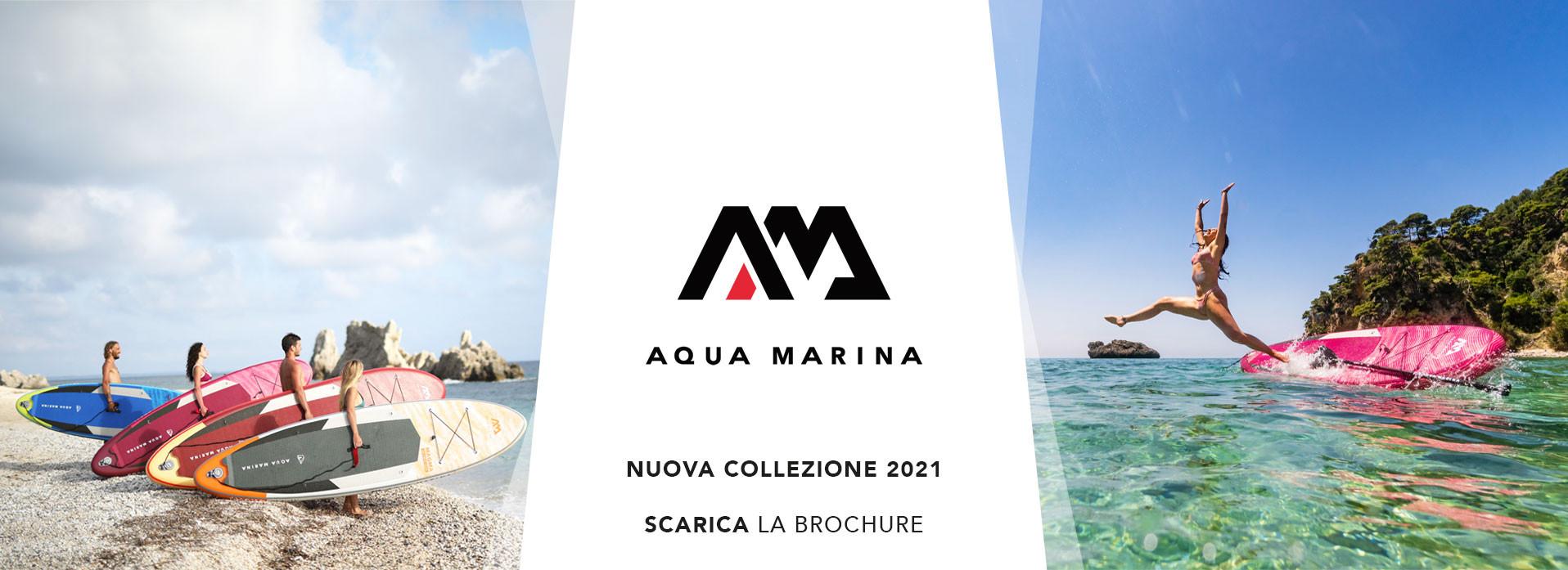 CLICCA QUI per visualizzare il catalogo con le novità Aqua Marina 2021