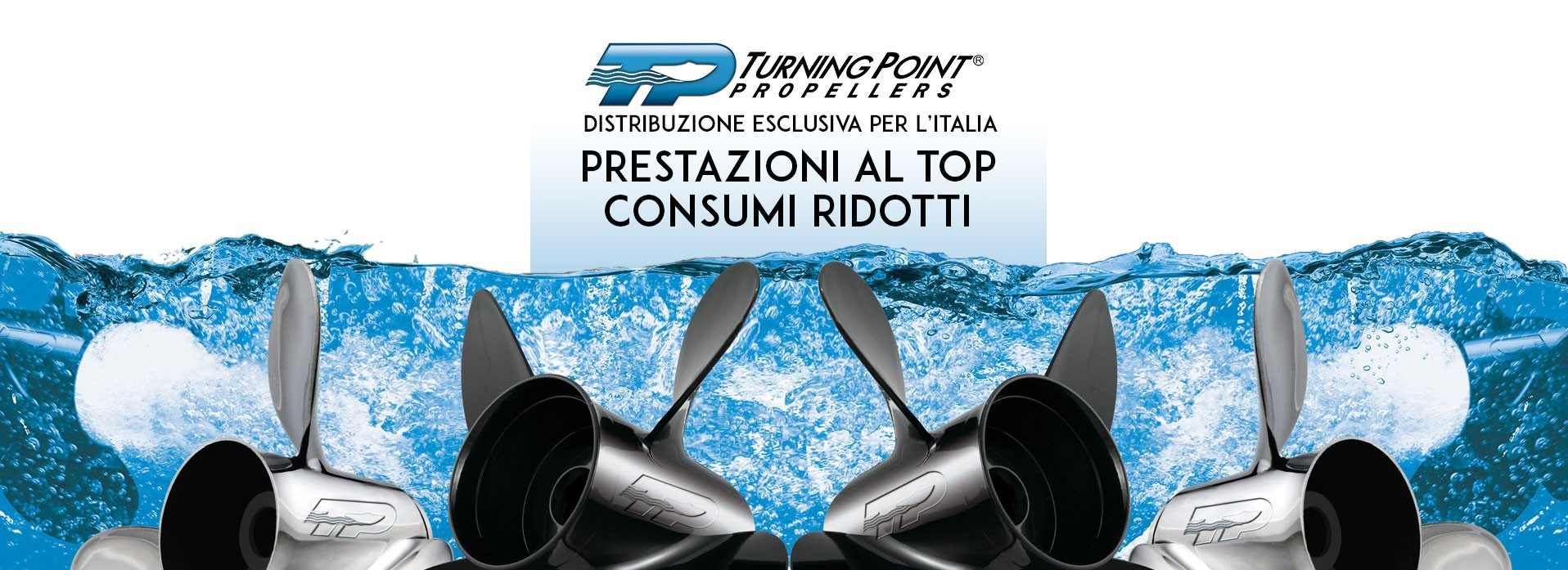 Turning Point Propellers - Distribuzione esclusiva per l'Italia